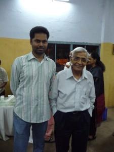 With Prof.Mani